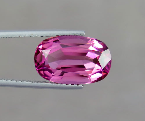 Flawless 5.75 Carats Natural Pink Excellent Cut Tourmaline Gemstone from Afghanistan