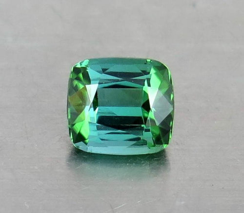 FL 2.20 Carats Natural Greenish Blue Excellent Cut Tourmaline Gemstone from Afghanistan.