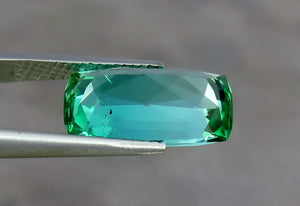 VVS 5.60 Carats Natural Amazing Color Tourmaline Gemstone from Afghanistan.