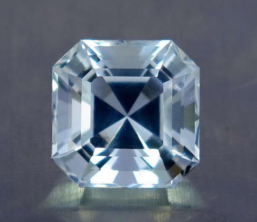 Flawless 15.10 Carats Natural Excellent Asscher Cut Aquamarine Gemstone.