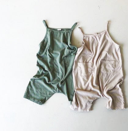 Baggy Cotton Romper / Jumpsuit