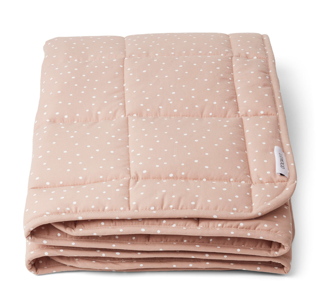 Ebbe Quilted Blanket - Confetti rose