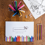 Children's Activity And Colouring Book