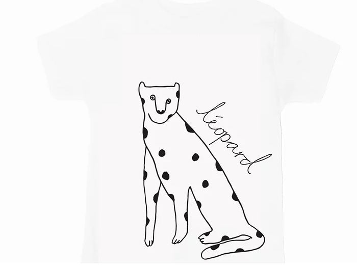 White Leopard Top - Short Sleeve - jacksplot