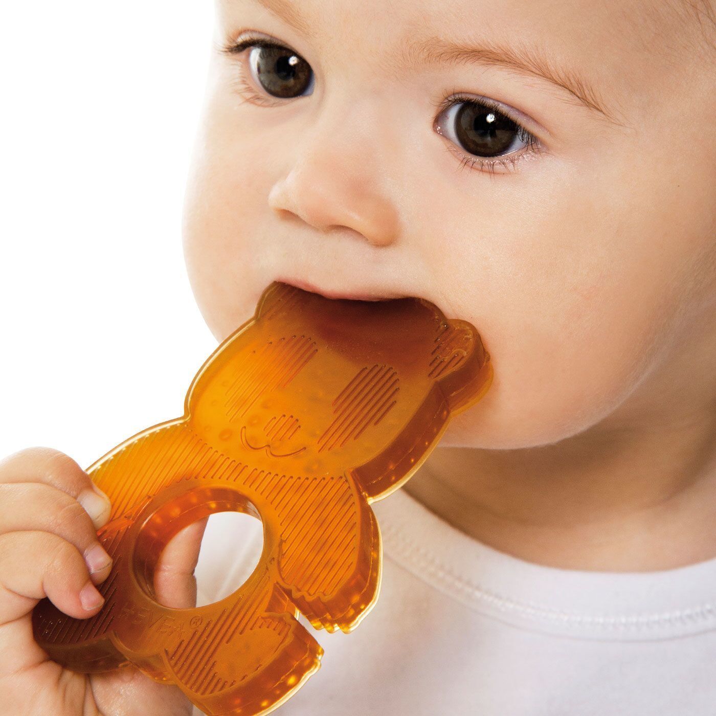 Natural Rubber Panda Teether - jacksplot