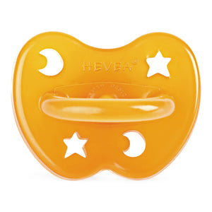Natural Rubber Orthodontic Pacifier - Natural Colour - jacksplot