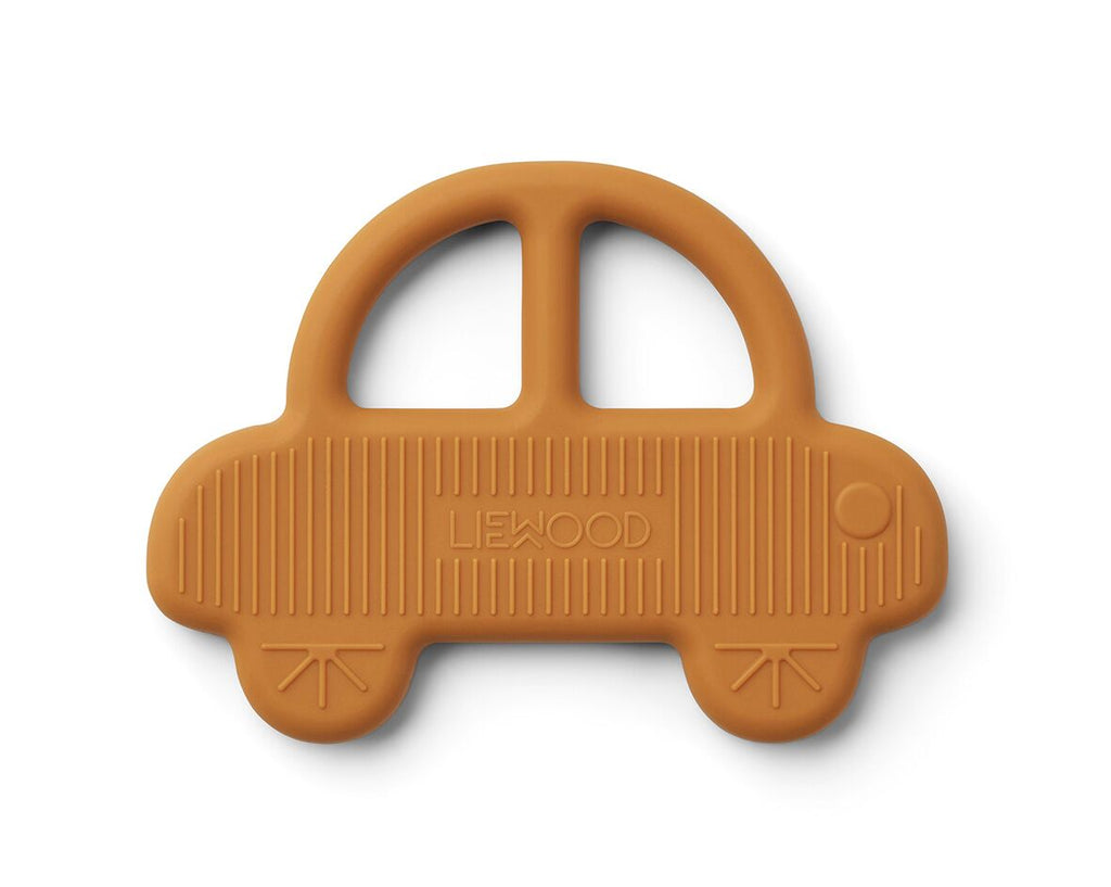 Gemma Car Teether - Mustard - jacksplot