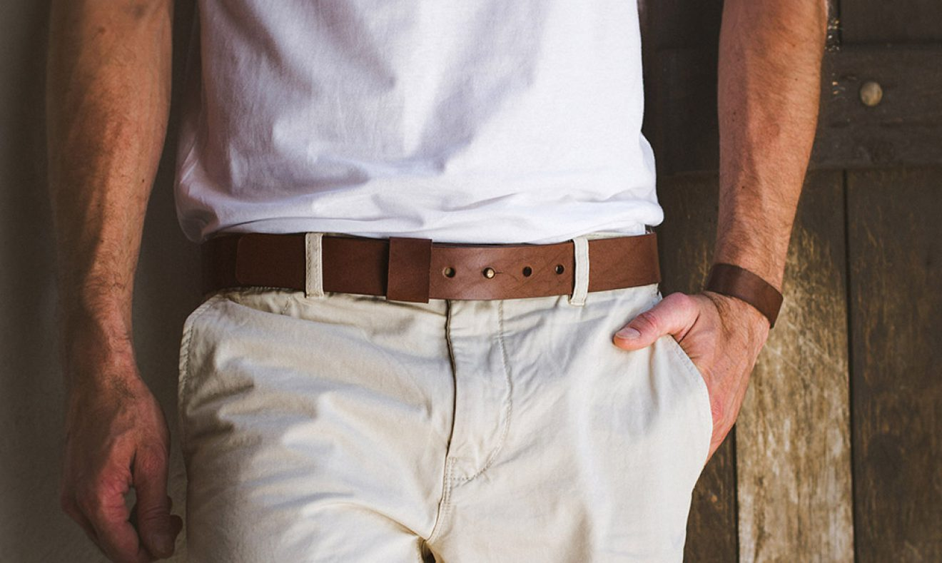 Malaga Leather Belt