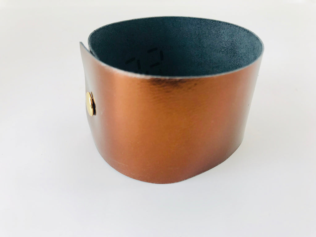 Montreal Twilight Leather Cuff