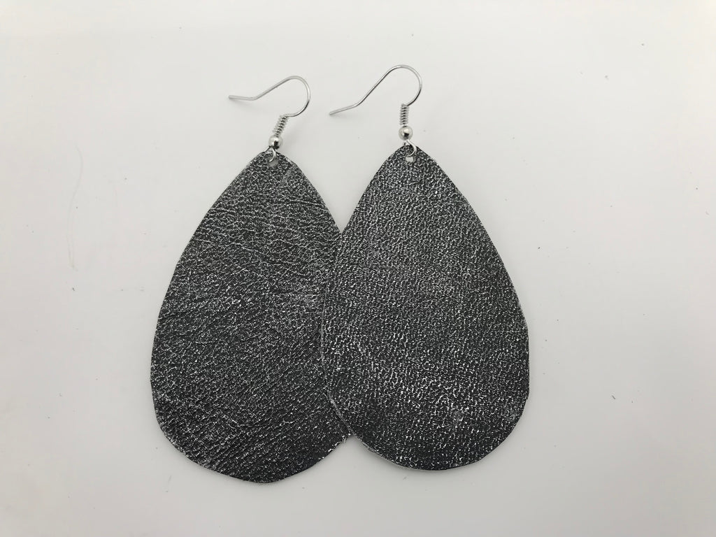 Quiet Reverie Leather Earrings