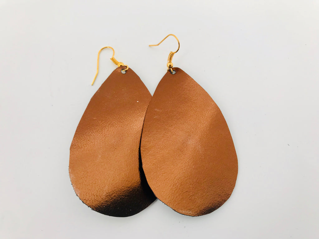 Montreal Twilight Leather Earrings
