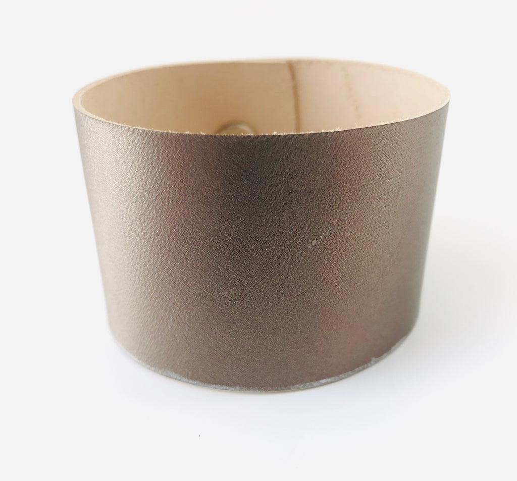Ethereal Mist Leather Cuff