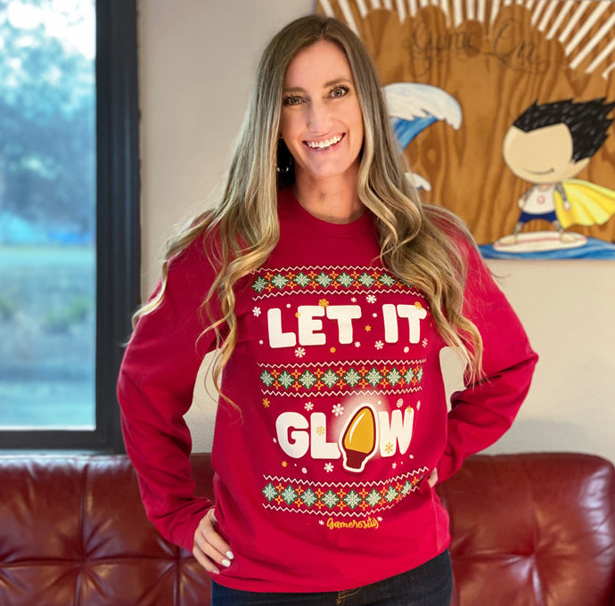 Let It Glow Unisex Long Sleeve Tee