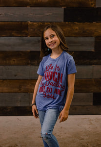 Emma Youth Triblend Tee