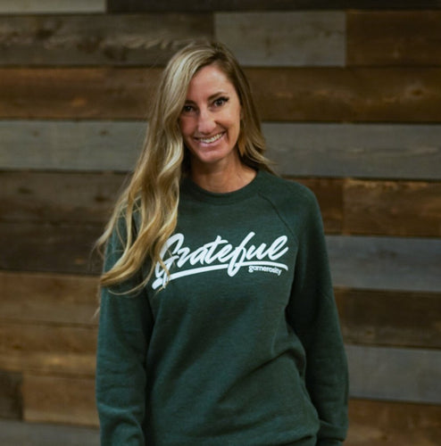 Grateful Unisex Raglan Sweatshirt