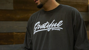 Grateful Unisex Long Sleeve Tee