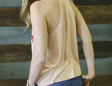 Load image into Gallery viewer, Mia Ladies High Neck Flowy Tank