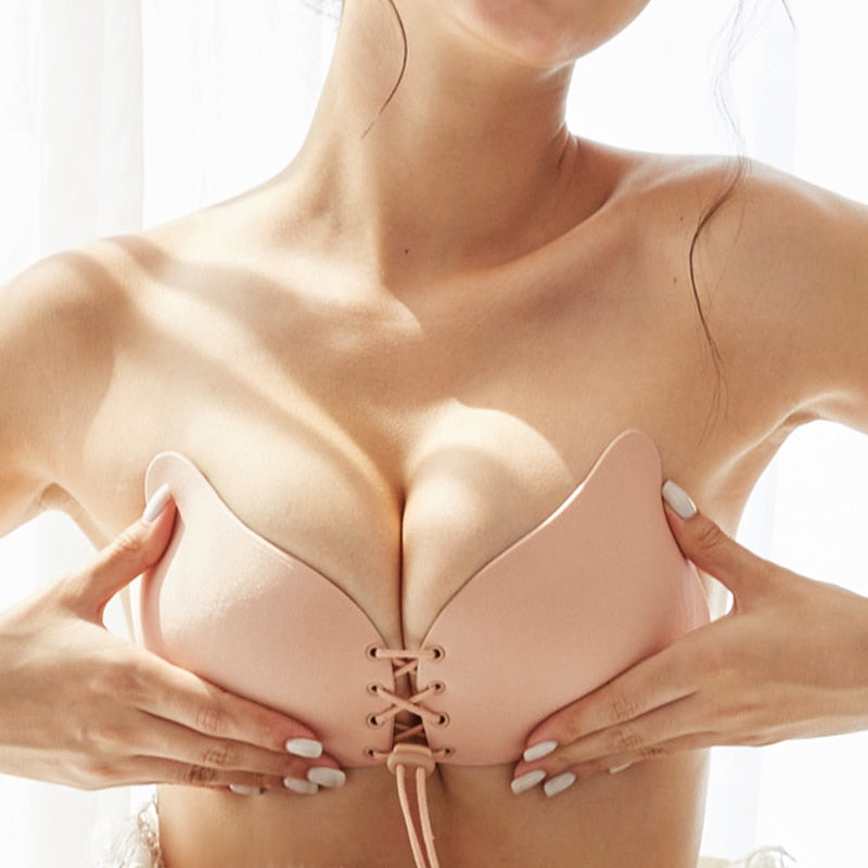 Seamless Wireless Adhesive Stick Bra