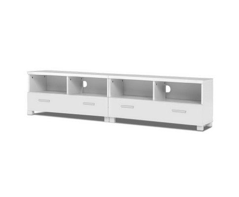 Artiss TV Stand Entertainment Unit with Drawers - White