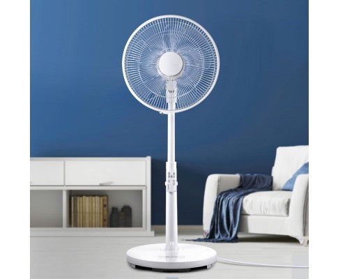 40cm Pedestal Fan 9 Speeds Motor Quiet Remote Control Sleep Mode Timer