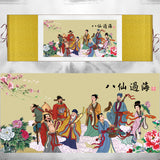 Feng Shui  Eight Immortals Painting