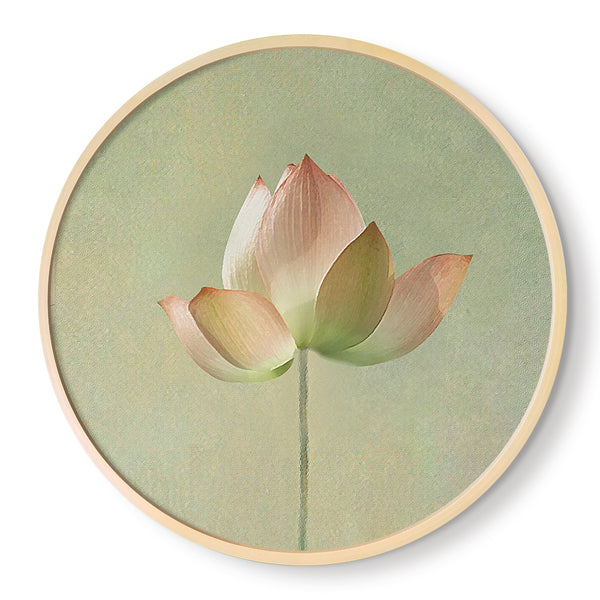 Feng Shui Lotus Flower Painting