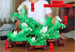 Feng Shui Resin Horse With Bok Choy