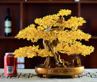 Feng Shui Natural Citrine Crystal Tree