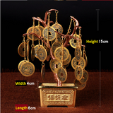Feng Shui Copper Coins Tree