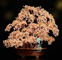 Feng Shui Natural Citrine Lucky Tree