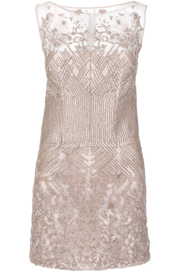 SKIN EMBELLISHED DRESS