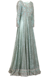 SEA GREEN MOKAISH DRESS