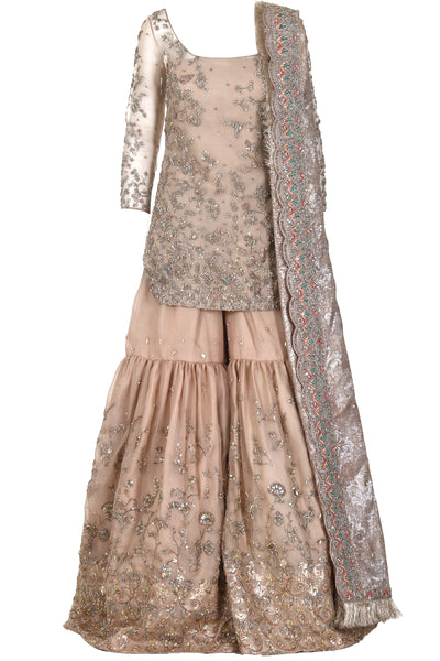 EMBELLISHED DRESS WITHOUT DUPATTA
