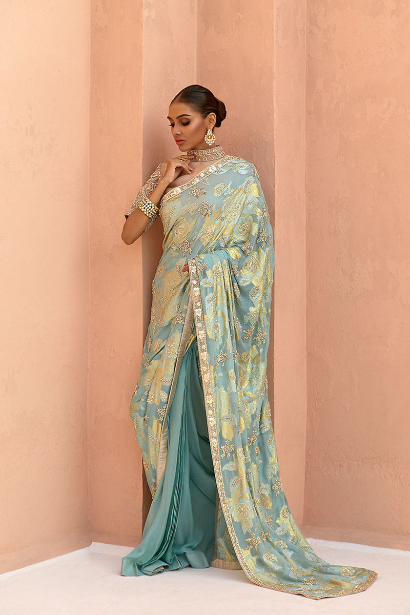 Zanbagh Formal Saree