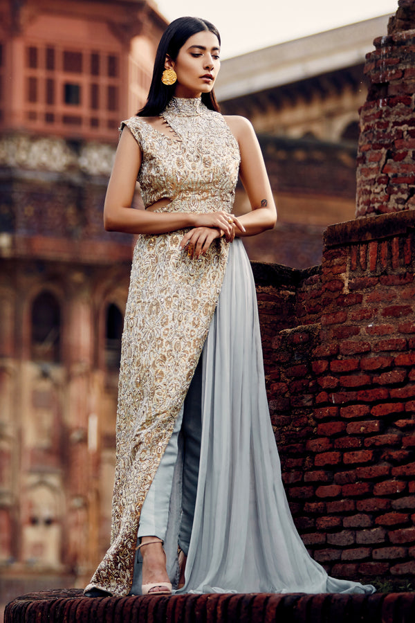 CYRA FORMAL SAREE DRESS