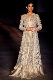 EMBELLISHED CUTWORK DRESS