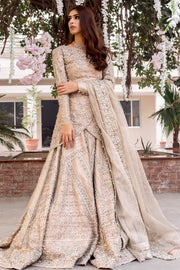 KUNDAN NET WEDDING DRESS