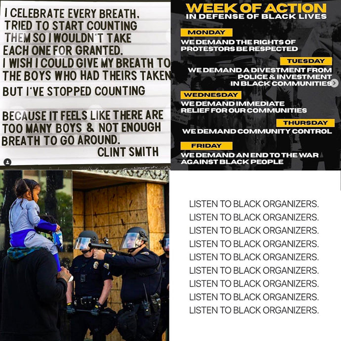 Week of Action in Solidarity with BIPOC: 4 Activists to Follow