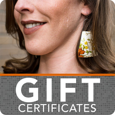 Gift Certificates for Jewelry from Upcycled Materials