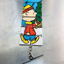 Load image into Gallery viewer, Charlie Brown Upcycled Tin Bracelet