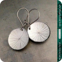 Load image into Gallery viewer, Mystery 3 Pair Upcycled Starburst Tiny Basin Tin Earring Combo Pack