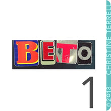 Load image into Gallery viewer, Beto for Texas Upcycled Tin Necklace Ethical Fashion