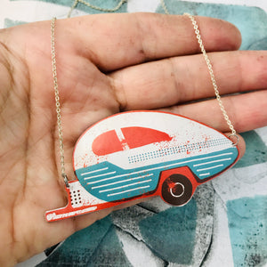 Happy Camper Zero Waste Tin Necklace