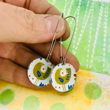 Load image into Gallery viewer, Mod Birds Medium Basin Earrings