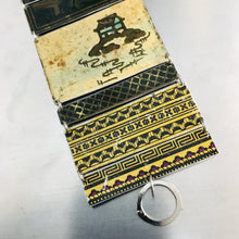Load image into Gallery viewer, Chinoiserie Dark & Light Upcycled Tin Bracelet