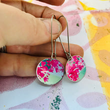 Load image into Gallery viewer, Pink Blossoms Medium Basin Earrings
