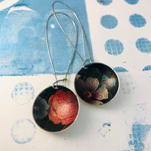 Load image into Gallery viewer, Crackled Bouquet Large Basin Tin Earrings