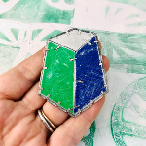 Edifice 6 Upcycled Tin Brooch/Necklace