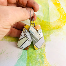 Load image into Gallery viewer, Mixed Neutrals Tesserae Zero Waste Tin Earrings