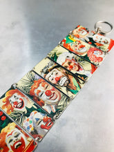 Load image into Gallery viewer, Crazy Clowns Upcycled Tin Bracelet